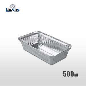 矩形190款鋁箔餐盒 500ml