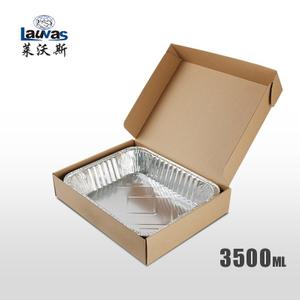 矩形320深鋁箔套盒 3500ml