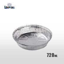圆形7寸铝箔餐盘 720ml