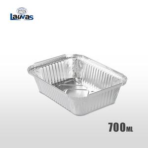 矩形185款鋁箔餐盒 700ml