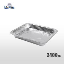 矩形320浅款铝箔餐盒 2400ml