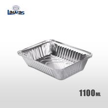 矩形220款铝箔餐盒 1100ml