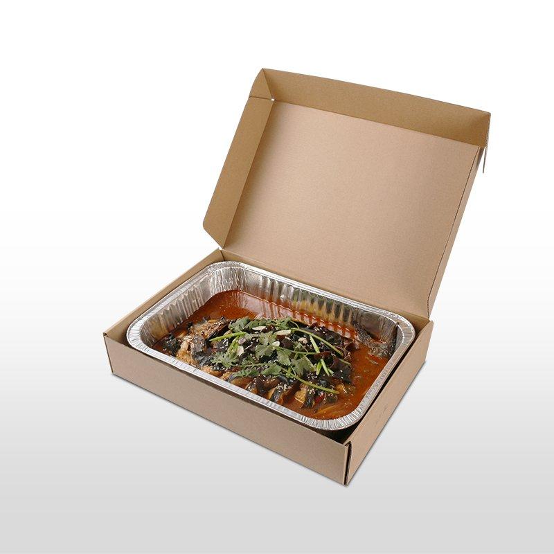 矩形370鋁箔套盒 4900ml