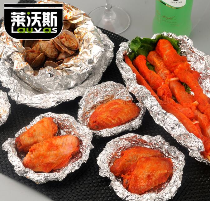家用食品包裝鋁箔卷 燒烤鋁箔卷 食品鋁箔 錫紙